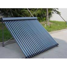 Collecteur solaire avec clé solaire