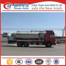 Tipo de conducción 6 * 4 HOWO Diesel Engine Asphalt Spraying Truck