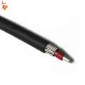 Aluminum conductor XLPE OR PVC straight concentric cable  3x10+10 , 3x16+16, 4x10, 3x25