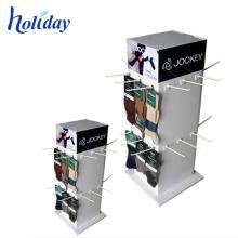 Acceptez le présentoir accrochant latéral accrochant de support de présentoir de crochet de carton de conception faite sur commande 3