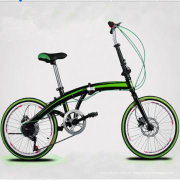 """Bicicleta / bicicleta dobrável em liga de alumínio de 20 """""""