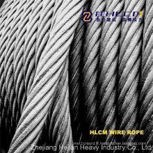 Corde à fil d'acier avec SGS (HLCM)