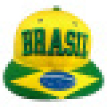 Snapback Cap with Flat Peak with Plastic Strap (1401E)