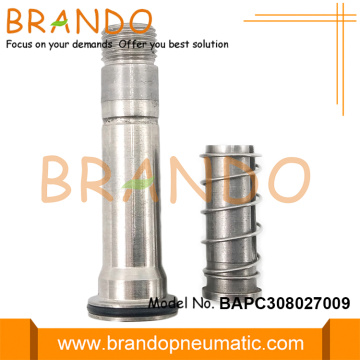 8mm OD Perakitan Plunger Flange Tabung Stainless Steel