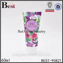 NEW 60ml 2oz plastic tube with screw cap for cream packaging China