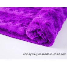 Tissu polaire de PV pour le jouet / vêtement