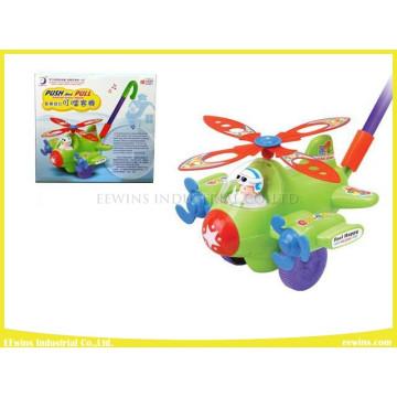 Push Pull Toys Doraemon Plane Juguetes de plástico
