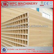 Máquina wpc para porta de plástico de madeira