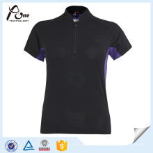 Stretchable Blank Ciclismo Jersey Mulheres Bike Desgaste
