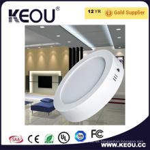 El panel montado superficie redonda del LED 6W 12W 18W 24W Dimmable