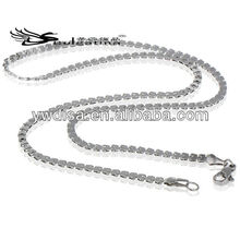 Long Style Snake Chain For Necklace Making Thick Men's Chain Jewelry
