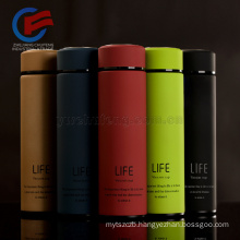 Stainless Steel Water Bottle Thermos Cup LOGO customized 350/500ml