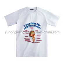 Kundenspezifisches Baumwollmänner bedrucktes T-Shirt