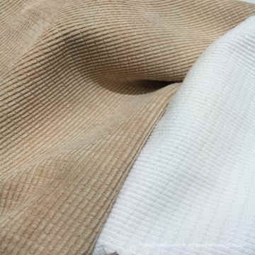 97% Polyester 3% Tissu de flanelle en nylon pour vêtement