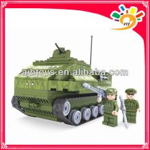 199pcs Militärspielzeugblock DIY Behälter blockiert Spielzeug
