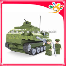 199pcs Военный блок игрушка DIY танк блокирует игрушку