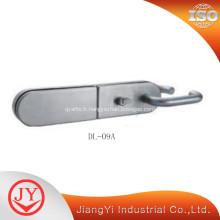 Poignée de porte coulissante en acier inoxydable avec serrure