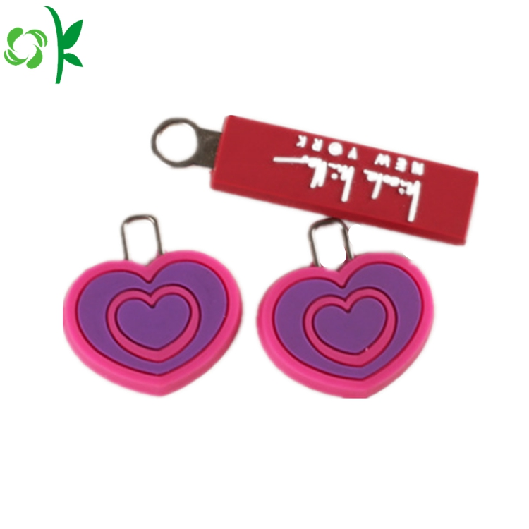 Silicone Zipper Pull Tags