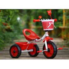 As crianças por atacado montam no carro dois assentos O triciclo do bebê caçoa a bicicleta do triciclo com banco traseiro