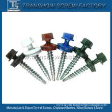Ral Color Painted Hex Washer Roofing Screws