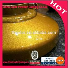 Gold Chrom Pulverbeschichtung mit Superschutz