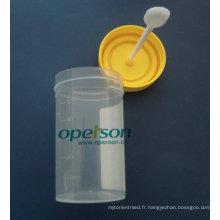 Conteneur d'urine jetable avec Ce approuvé