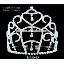 Corona larga de la tiara de la fábrica de la vida directamente
