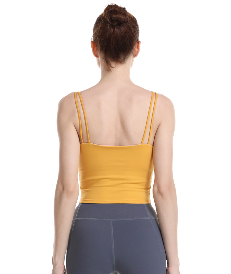 Light Support Yoga Sport Tops