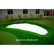 Nuevo diseño de golf barato verde, césped artificial de golf para proyecto verde