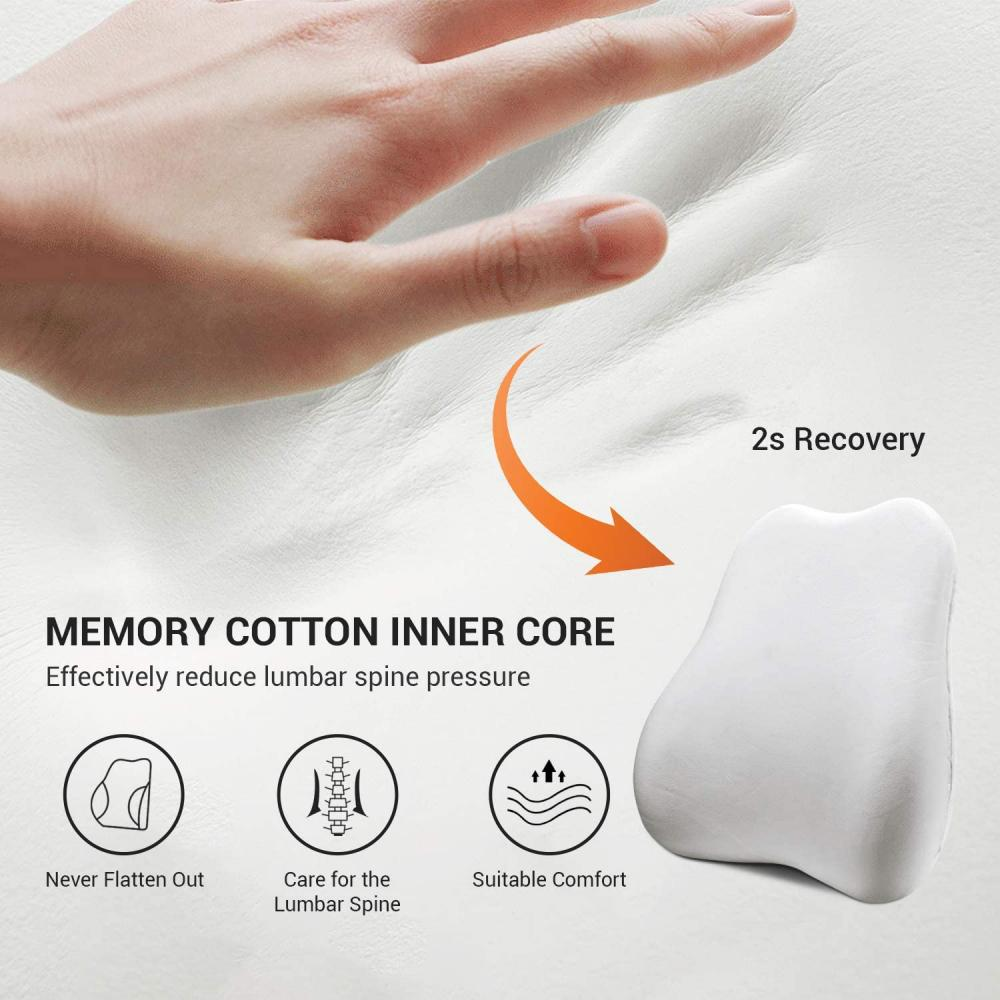 Memory Foam Gripper Chair Pads
