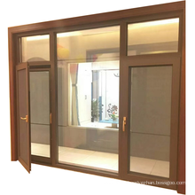 Australian standard aluminum window manufacturer casement window with retractable flyscreen