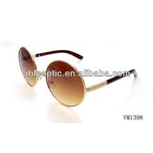 Красивый дизайн круглые металлические солнцезащитные очки оптом Alibaba