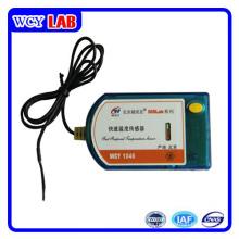 Puerto USB sin pantalla Sensor de temperatura rápida en laboratorio digital