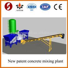 Высокопроизводительный передвижной бетонный завод MD1200, передвижная бетоносмесительная установка, передвижной бетонный завод