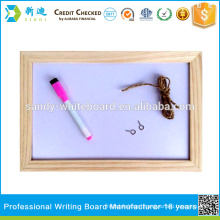 NEW wooden frame magnetic whiteboard small writing board                                                     Quality Assured