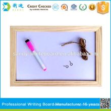 Новая деревянная рамка с магнитной доской маленькая письменная доска