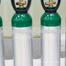 CGA 540 valve for 6061 material Medical oxygen gas cylinder