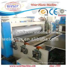 200 kg / h TPU Blatt Pflanze Maschine mit CE genehmigt