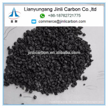 China Jinli Carbon S 0,5% 1-5mm calcinierten Petrolkoks calciniert PET-Kohle-Kohlenstoff-Additiv