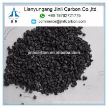 China Jinli Carbon S 0.5% 1-5mm calcined petroleum coke calcined pet coke carbon additive
