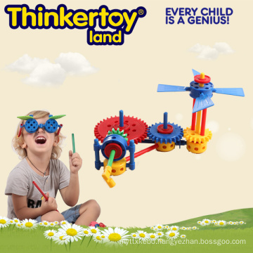 Promotional Gift Plastic Puzzle Toy for Education