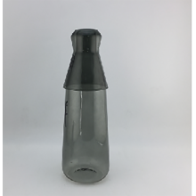 Set of Borosilicate Glass Pitcher & Glass Cup