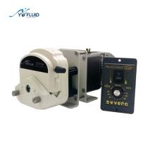Pompe péristaltique à vitesse variable utilisée dans l'irrigation goutte à goutte