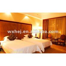 100% хлопок установлены лист королева Размер белый 300 TC хлопок постельных принадлежностей для отель