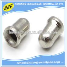 Ojetes de latón con logotipo para termostato de hierro