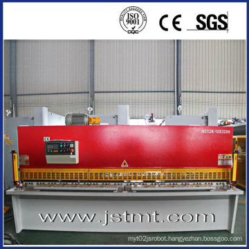 Sheet Metal Nc Shearing Machine with Laser (QC12K-10X3200)