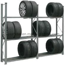Einstellbare Multifuntional Garage Speicher Metall Stahl Reifen Rack