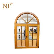 cheap arched decorative aluminum window security bars, bow window prices