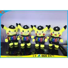 Charming Style High Quality Stuffed Animal Pokemon Go Plush Toy Camouflage Pikachu Doll