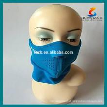 Segurança Esportes tipo máscaras de protecção respirável meia face neoprene máscara